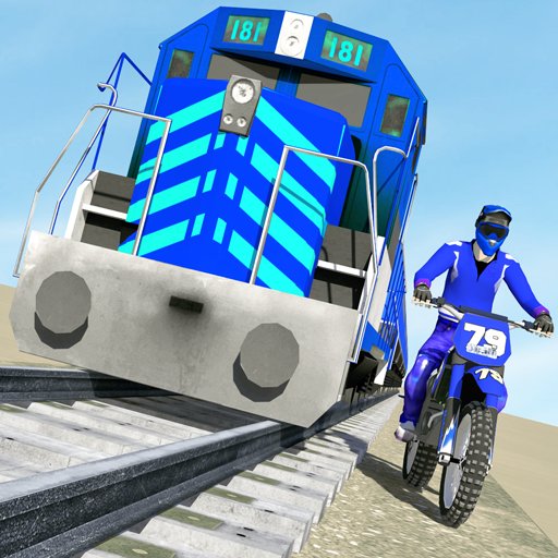 Bike vs. Train – Top Speed Train Race Challenge Pro apk download – Premium app free for Android
