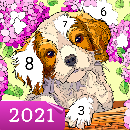 Mod apk download – Mod Apk Happy Canvas™ – Color by Number Book  2.1.2 [Unlimited money] free for Android