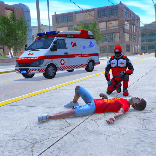 Light Speed Hero Rescue Mission: City Ambulance Pro apk download – Premium app free for Android