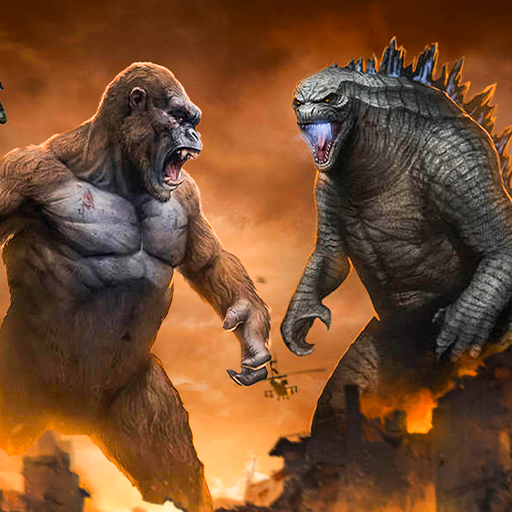 Dinosaur Rampage Attack: King Kong Games 2020 Pro apk download – Premium app free for Android